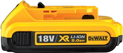 Batteria XR Litio 18V 2 Ah